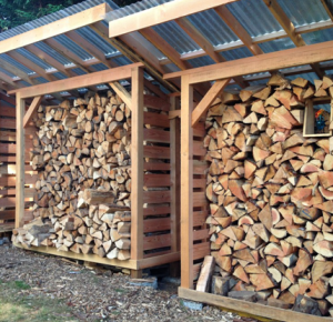 Firewood in stock